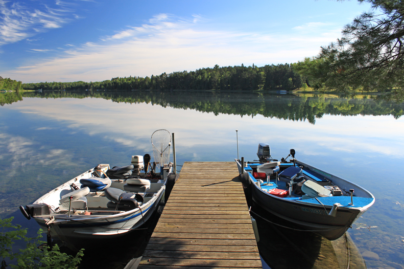 Fishing Boats at Half Moon Trail Resort